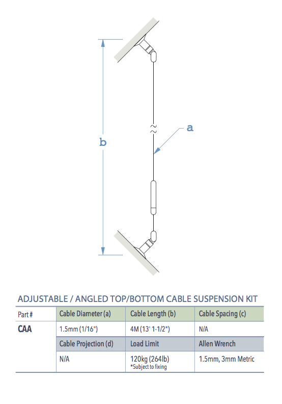 Specifications for CAA