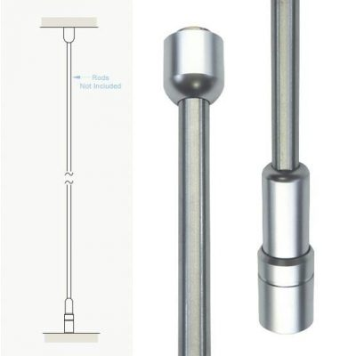 RAS-10_ceiling_to_floor_fixings_for_10mm_rods_front