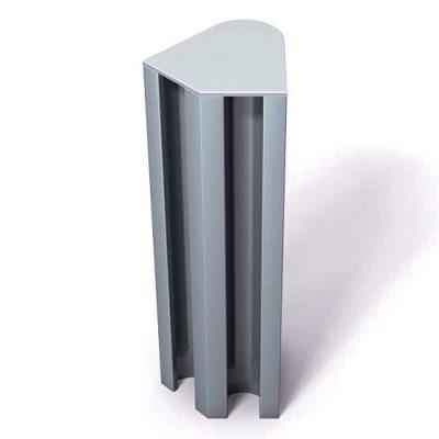 370-123-Aluminum-End-Cap