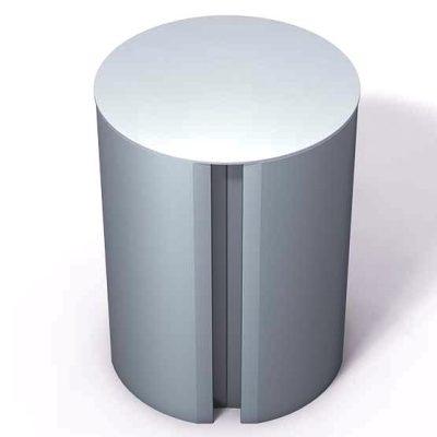 370-190-Aluminum-End-Cap