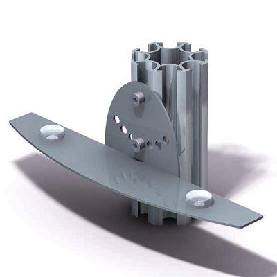 504-B02-200mm-Adjustable-Shelf-Bracket-with-Bumpers