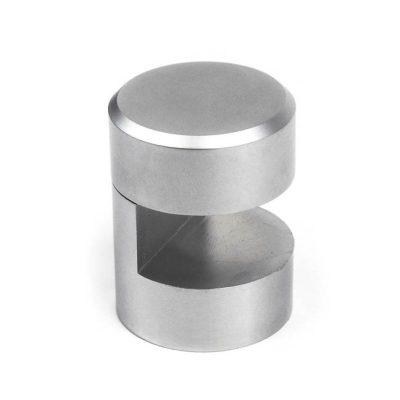 WGR25-10mm-SC-satin-chrome-brass-edge-grip-standoff-support