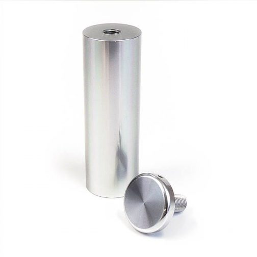 WSO-2575-M8-aluminum-sign-standoff-with-cap