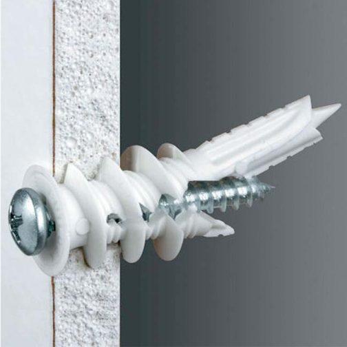 P75-TWL-Twist-N-Lock-75-lb-Self-Drilling-Drywall-Anchor-Install