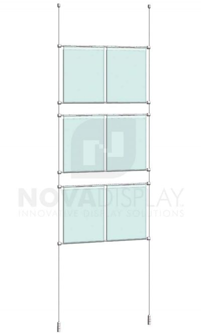 KHPI-002_Hook-on-Poster-Holder-Display-Kit-cable-suspended-hooked-on-horizontal-rods