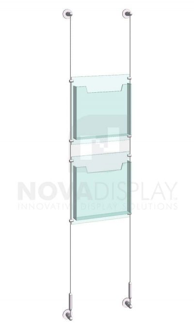 KLD-007_Acrylic-Literature-Display-Kit-wall-cable-suspended