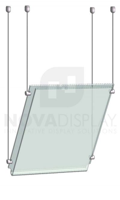 KPI-006_Easy-Access-Poster-Holder-Display-Kit-angled-mount-cable-suspended