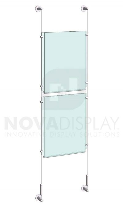 KPI-008_Easy-Access-Poster-Holder-Display-Kit-cable-suspended
