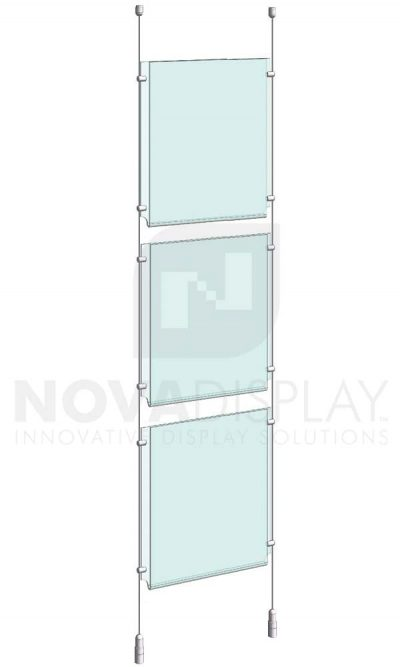 KPI-015_Easy-Access-Poster-Holder-Display-Kit-cable-suspended