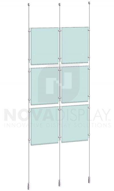 KPI-101_Easy-Access-Poster-Holder-Display-Kit-cable-suspended