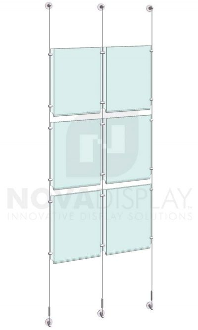 KPI-112_Easy-Access-Poster-Holder-Display-Kit-cable-suspended