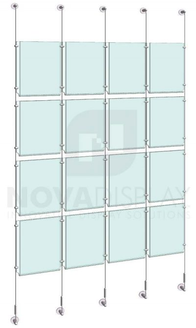 KPI-115_Easy-Access-Poster-Holder-Display-Kit-cable-suspended
