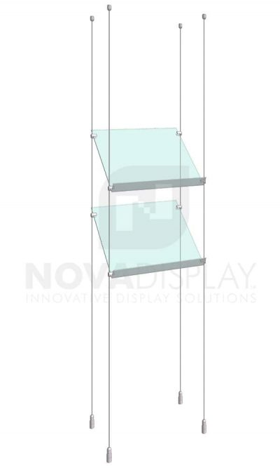 KSP-001_Acrylic-Sloped-Shelf-Display-Kit-cable-suspended