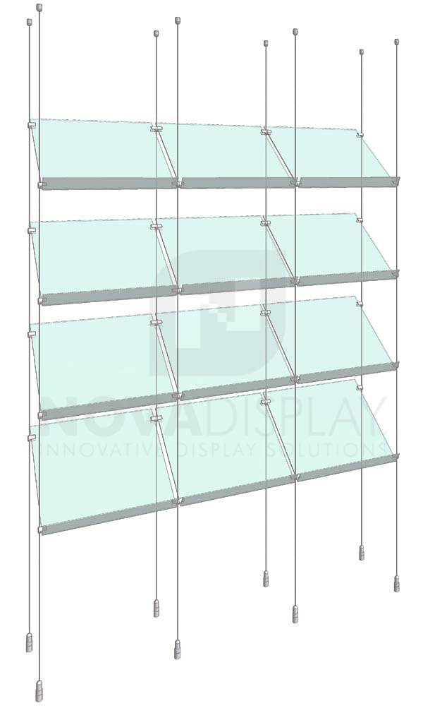 KSP-005_Acrylic-Sloped-Shelf-Display-Kit-cable-suspended