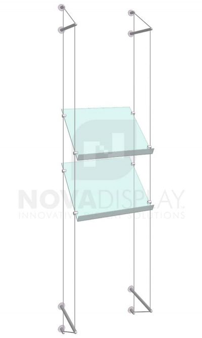 KSP-009_Acrylic-Sloped-Shelf-Display-Kit-wall-cable-suspended