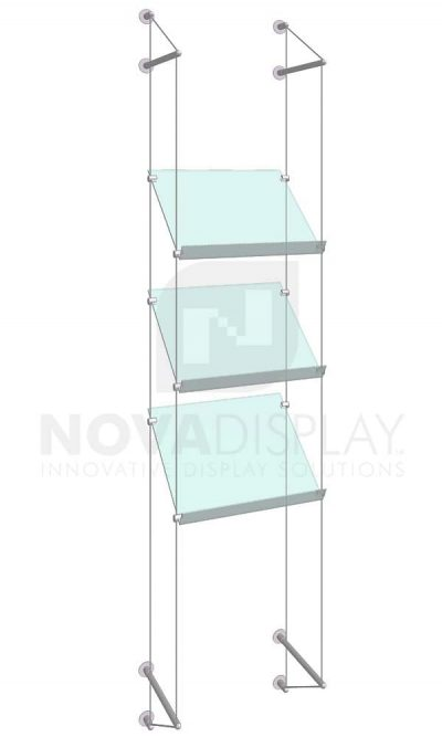KSP-010_Acrylic-Sloped-Shelf-Display-Kit-wall-cable-suspended