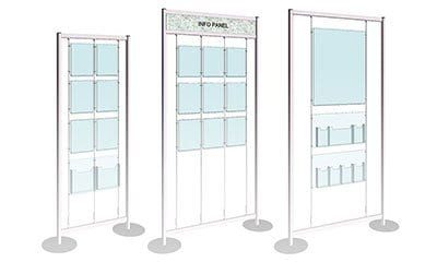 Free-Style Display Stands