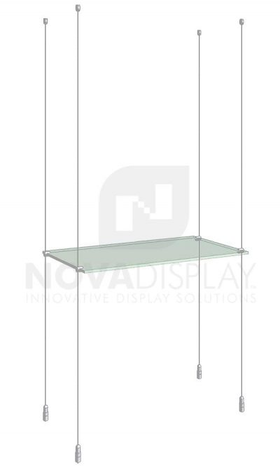 KSI-001_Acrylic-Glass-Shelf-Display-Kit-cable-suspended