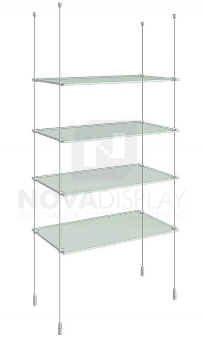 KSI-004_Acrylic-Glass-Shelf-Display-Kit-cable-suspended