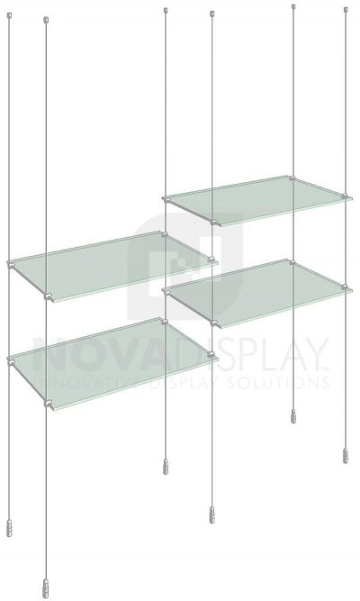 KSI-007_Acrylic-Glass-Shelf-Display-Kit-cable-suspended