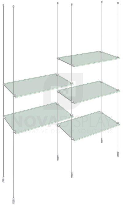 KSI-008_Acrylic-Glass-Shelf-Display-Kit-cable-suspended