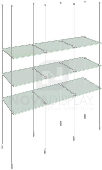 KSI-011_Acrylic-Glass-Shelf-Display-Kit-cable-suspended