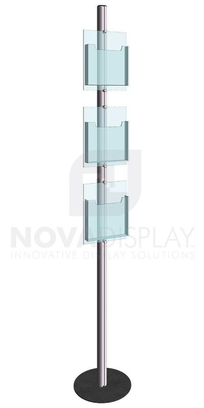 KFIP-006-Info-Post-Floor-Stand-Display-Kit