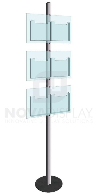 KFIP-007-Info-Post-Floor-Stand-Display-Kit