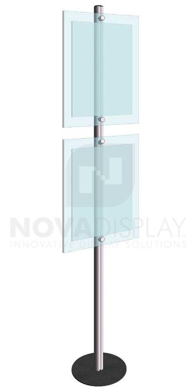 KFIP-012-Info-Post-Floor-Stand-Display-Kit
