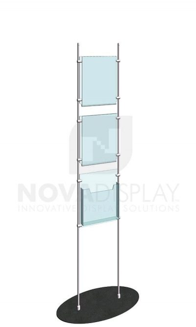 KFRS-003-Totem-10mm-Rod-Floor-Stand-Display-Kit
