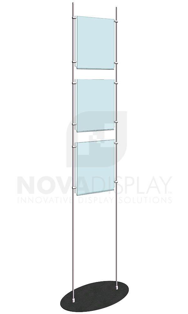 KFRS-009-Totem-10mm-Rod-Floor-Stand-Display-Kit