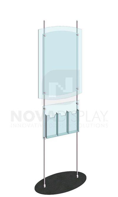 KFRS-018-Totem-10mm-Rod-Floor-Stand-Display-Kit