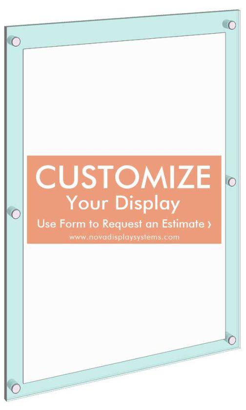 Frameless-Acrylic-Poster-Display-Kit