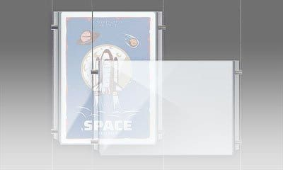 Easy Access Acrylic Poster Holders