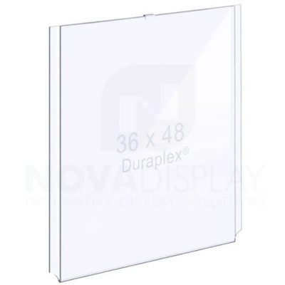 18EAAP-3648P Easy Access Acrylic Pocket / Poster Holder – Portrait