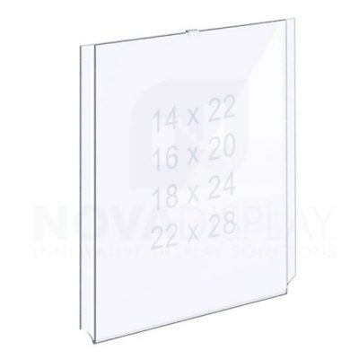 18EAAP-INSERT-PORTRAIT-L Easy Access Acrylic Pocket / Poster Holder – Large Portrait