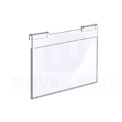 18HAP-LANDSCAPE-SMALL Hook-on Acrylic Pocket / Poster Holder – Landscape