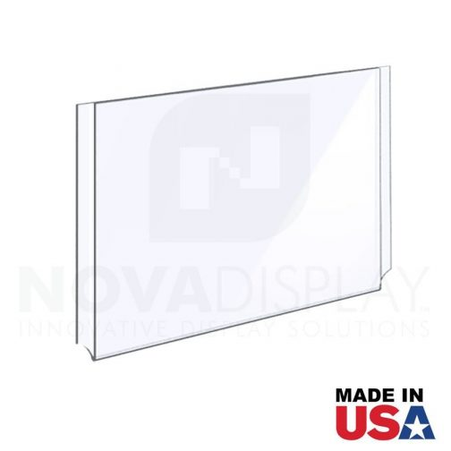 Clear Acrylic Easy Access Info/Poster Holder – Photo Format. Landscape Orientation