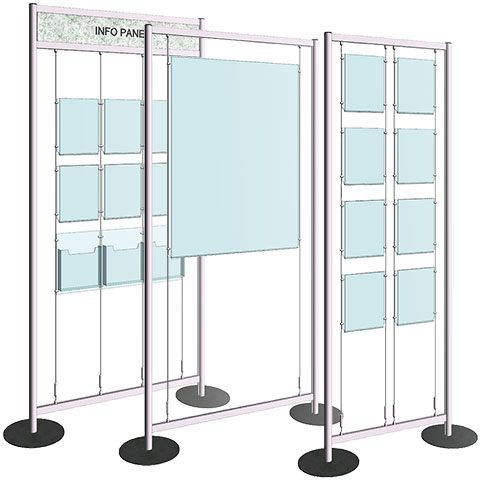 Nova Display Systems / Free-Style Display Stands