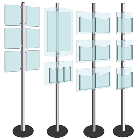 Nova Display Systems / Info-Post Display Stands