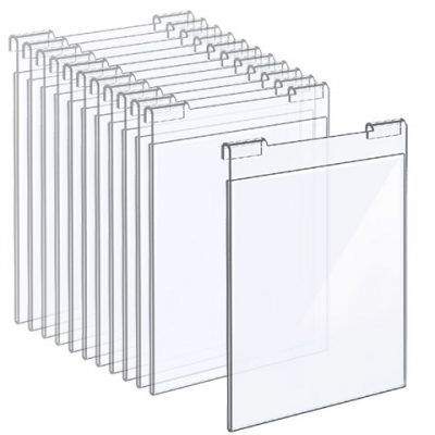 Nova Display Systems / Acrylic Hook-on Poster Holders in Bundle