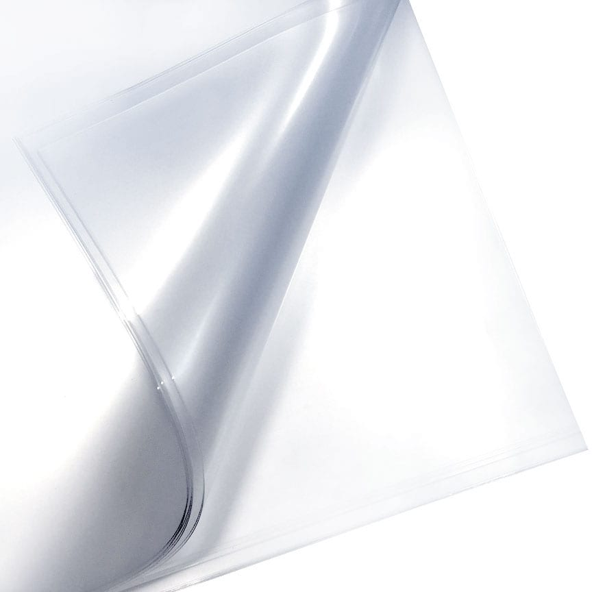 .020″ Clear PETG Sheets Film Masked