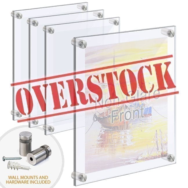 Acrylic Accessories for Standoff Display Systems