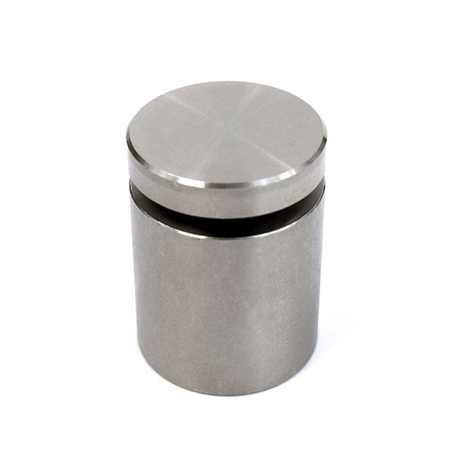 """1"""" Diameter Stainless Steel Standoff (3-Part Standoff with M6 Stud-Cap)"""