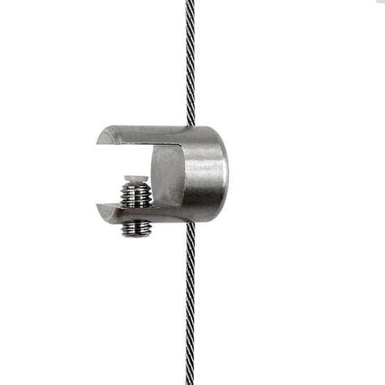 Shelf Support Single-Sided for Cable Systems | #303 Stainless Steel