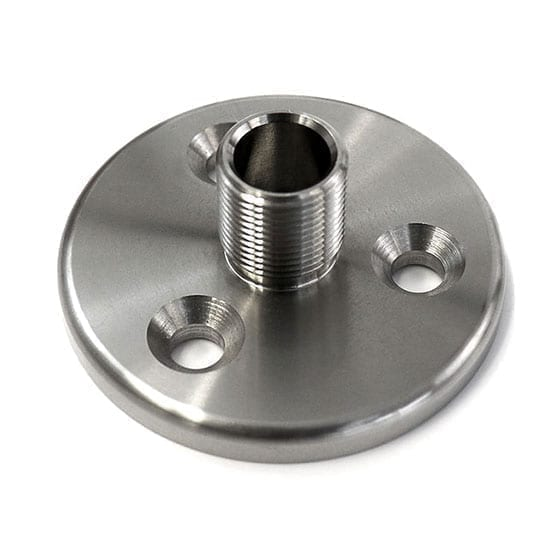 Heavy Duty Base Support – 50mm (2″) Diameter | Stainless Steel